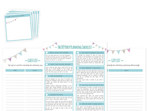 Incredibly Effective DIY Party Planning List - Direct Download - Check List - Party Design Resources