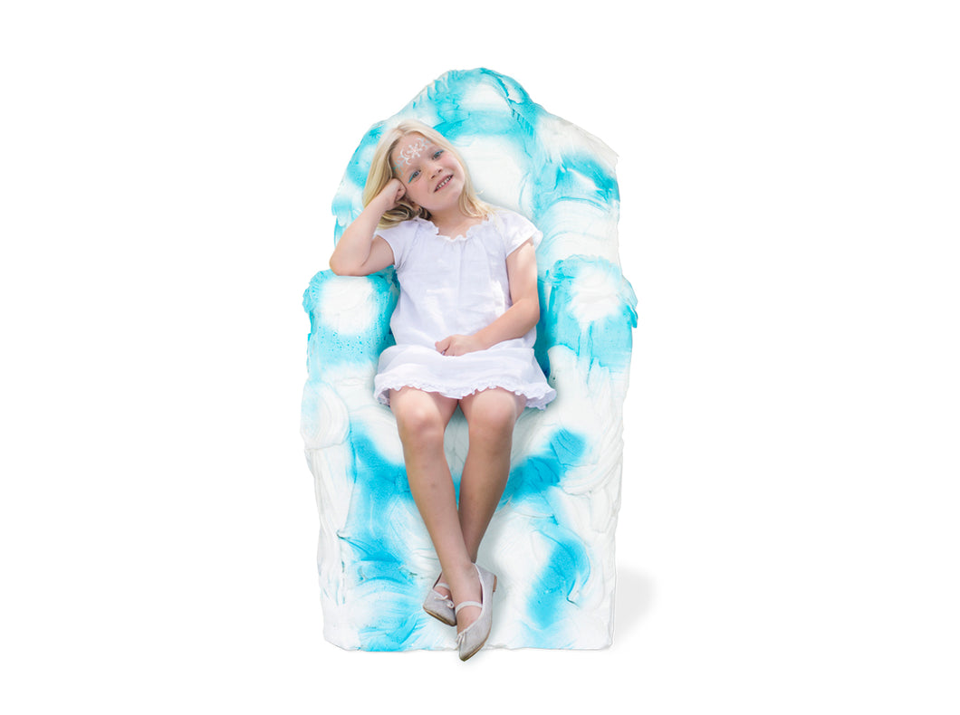 DIY ELSA'S FROZEN THRONE