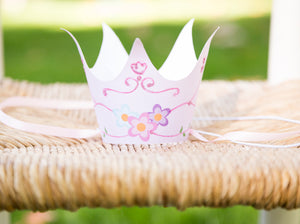 8 DIY Party Crowns - Princess Fairy Tiara