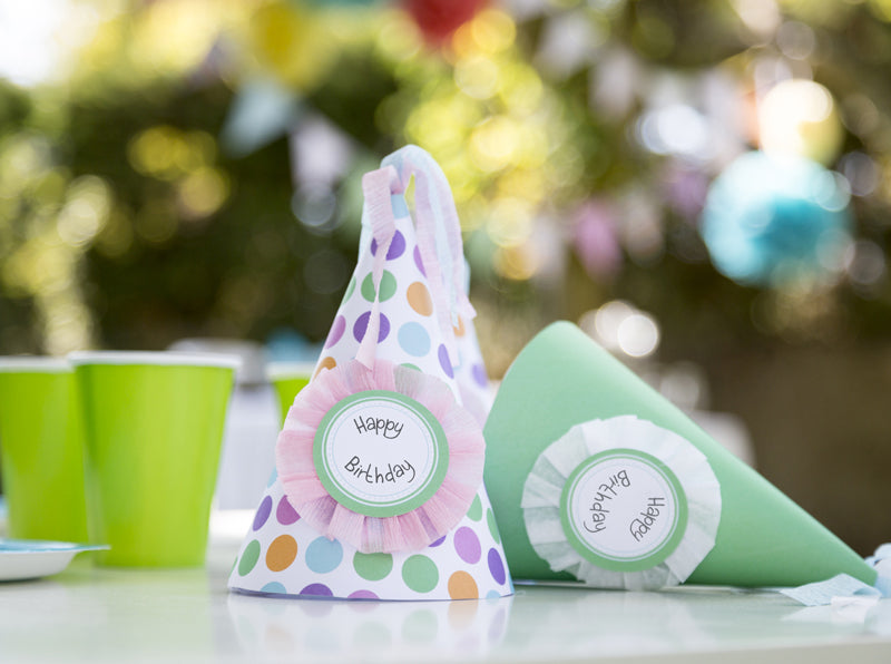 Birthday Party Hat - Essential collection from DIY Kids Party Ideas
