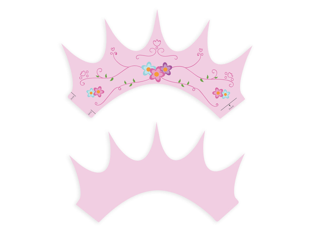 Party Crowns - Princess Fairy Tiara - Direct Download - PDF