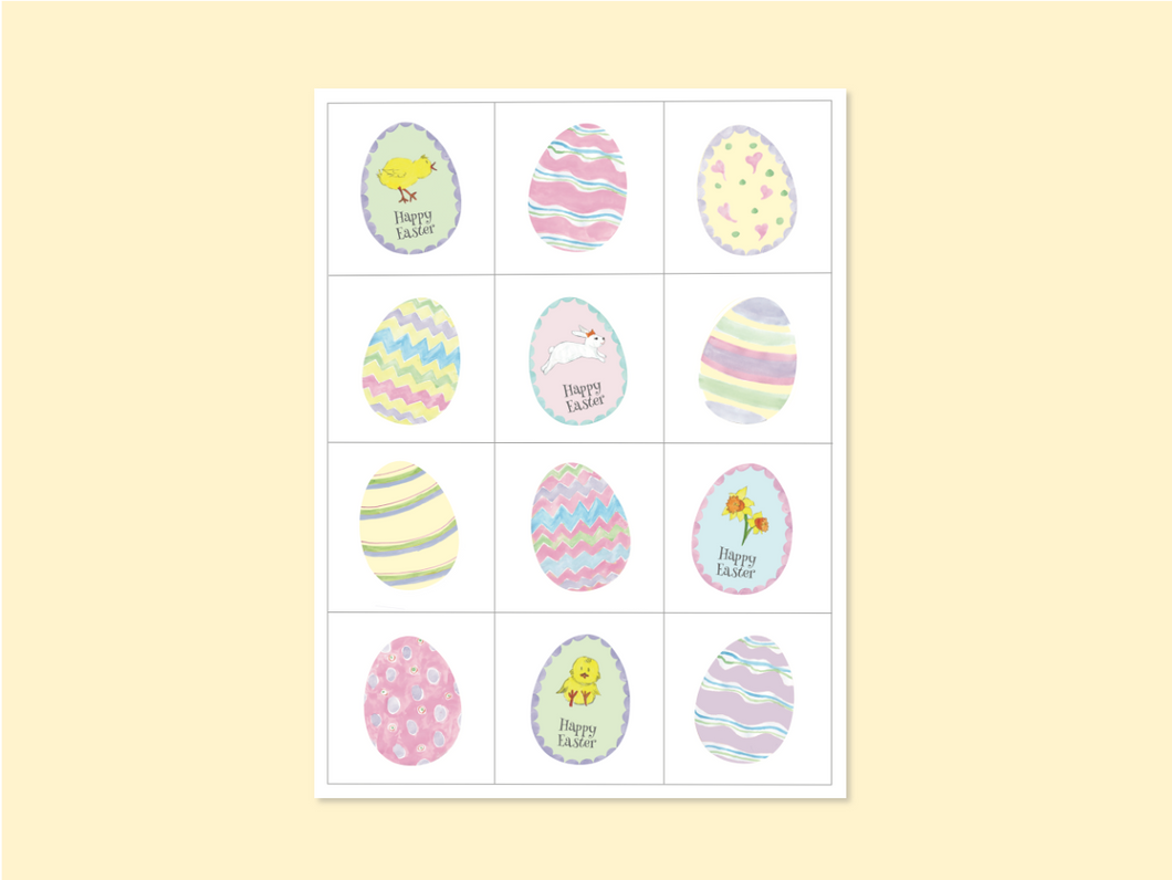 DIY Easter Memory Game - Direct Download - PDF