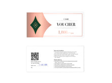 Voucher + Voucher and  Membership Card folder - DIGITAL DESIGN - Midtown Party Collection - Instant Download - Dxf, Pdf, Eps, Svg