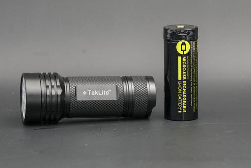 TA-100 Supercharged Flashlight