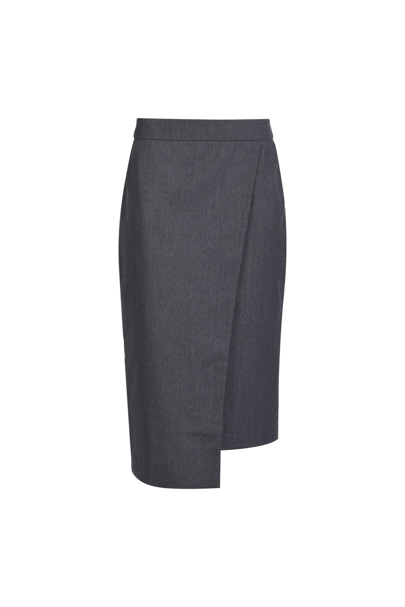 Pencil Skirt Dark Grey
