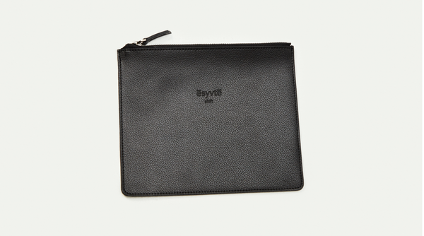 Leather Business Pouch | Effortless High Quality Clothing by Esyvte