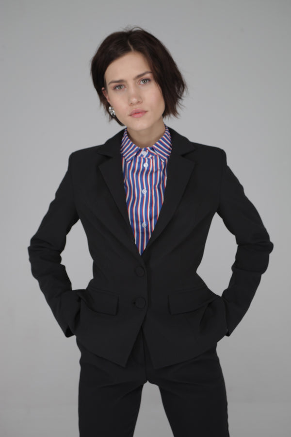 Performance Wear Blazer with Inside Pockets