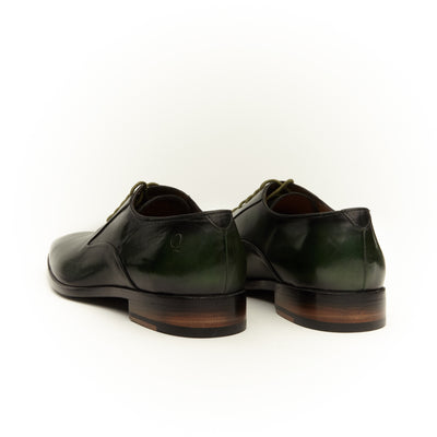 HUNTER GREEN CRUST DERBY SHOE