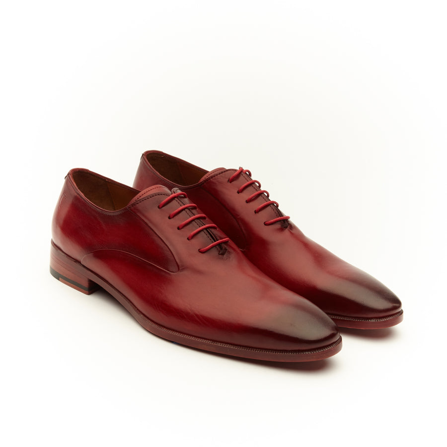 OMBRE RED CRUST CAP TOE SHOE