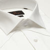 SLIM FIT LONG SLEEVE WHITE BARI COTTON SHIRT