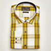 SLIM FIT LONG SLEEVE GREENWICH VILLAGE COTTON SHIRT