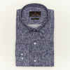 SLIM FIT LONG SLEEVE PRINTED SEDONA COTTON SHIRT