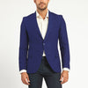 INDIGO BLUE TWO BUTTON SUIT JACKET