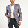 GLEN PLAID TWO BUTTON SUIT JACKET