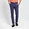 SKINNY FIT CASUAL NAVY POCKET PANT