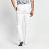 SKINNY FIT CASUAL WHITE POCKET PANT