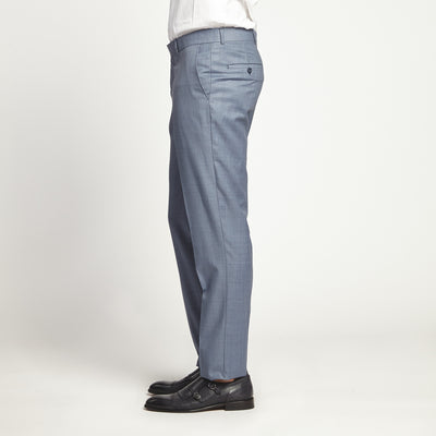 STRAIGHT FIT SLEEK GREY DRESS PANT