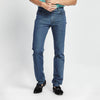 SLIM-STRAIGHT FIT LIGHT BLUE JEANS
