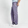 STRAIGHT FIT LILAC STITCHED POCKET PANT