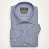 SLIM FIT LONG SLEEVE CLASSIC BLUE OXFORD COTTON SHIRT