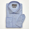 SLIM FIT LONG SLEEVE BLUE OXFORD COTTON SHIRT