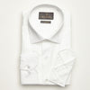 SLIM FIT LONG SLEEVE WHITE ZURIH COTTON SHIRT