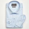 SLIM FIT LONG SLEEVE LIGHT BLUE DALLAS COTTON SHIRT