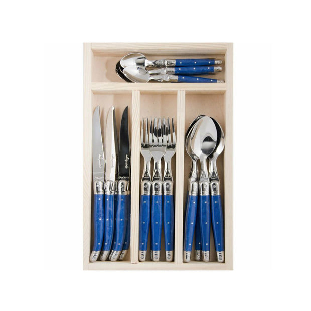 The French Farm Utensils Blue (24 pieces)