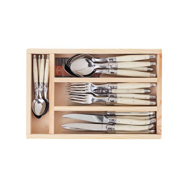 The French Farm Utensils Ivory (24 pieces)