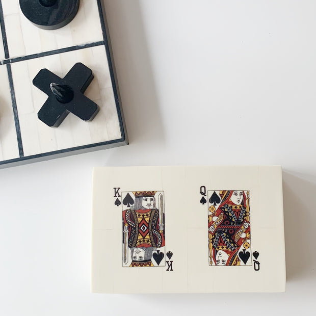 Double card bone box
