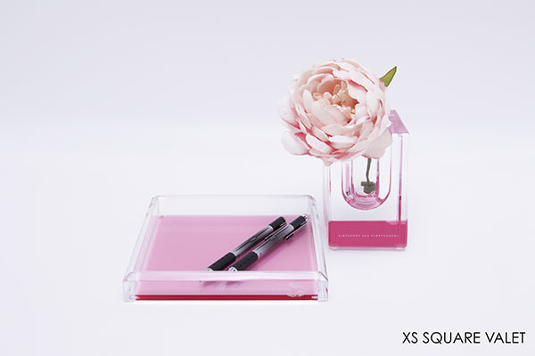 AVF Square Tray XS Rose