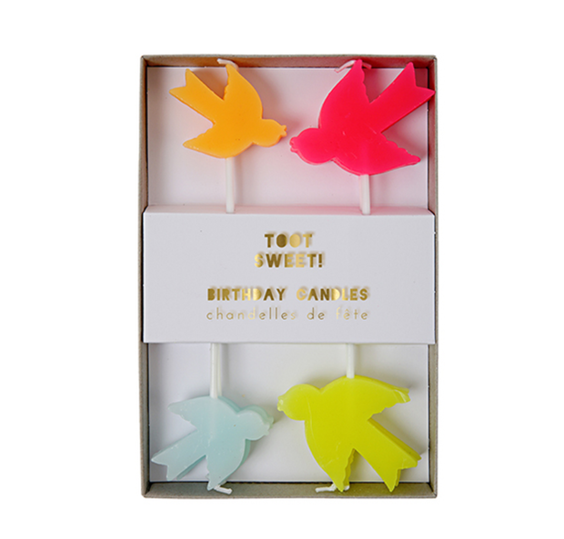 Meri Meri Bird Candles - Le Papillon Gallery