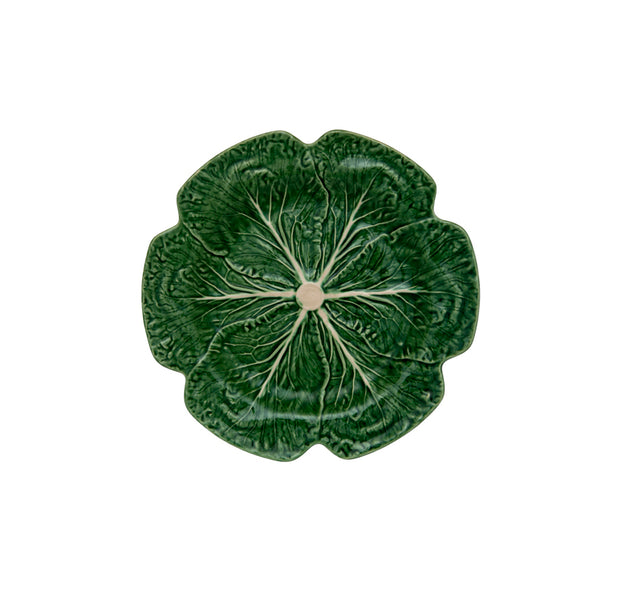 Bordallo Pinheiro Cabbage Dinner Plate 26,5 Green/Natural - Le Papillon Gallery