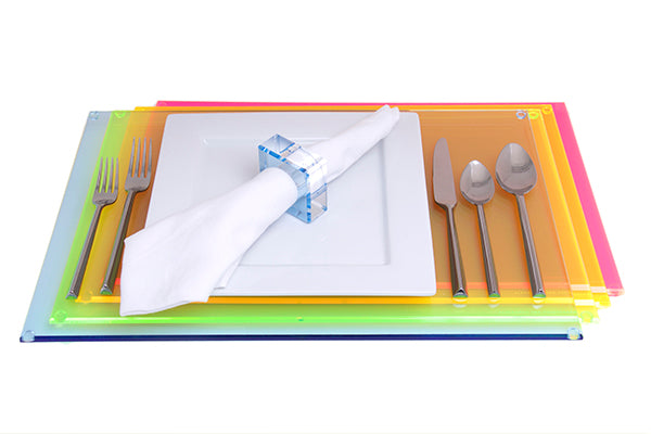 AVF Rectangular Placemat Multicolor set of 4