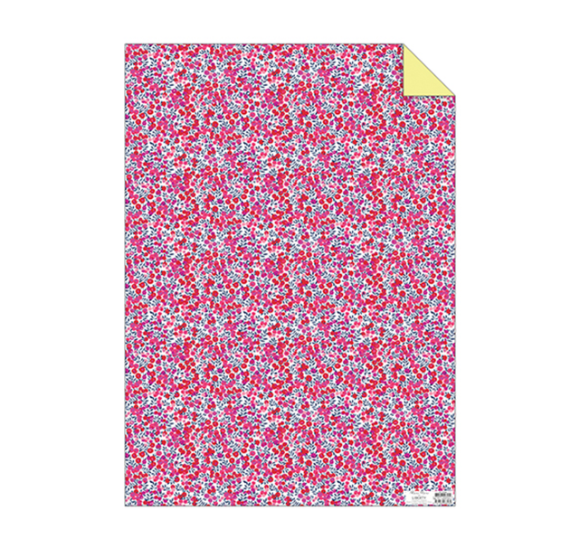 Meri Meri Liberty Wiltshire Berry Sheet Wrap - Le Papillon Gallery