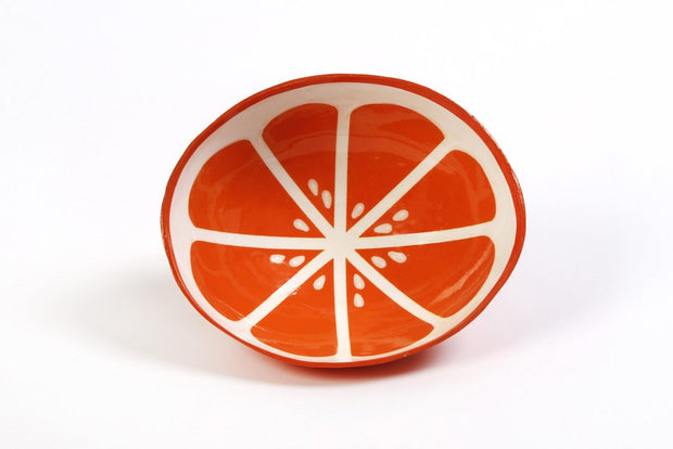 Art by Mele Fruit Bowl Orange - Le Papillon Gallery