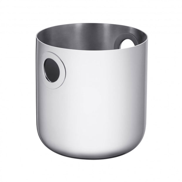 OH DE CHRISTOFLE Stainless Steel Champagne Cooler Bucket - Le Papillon Gallery