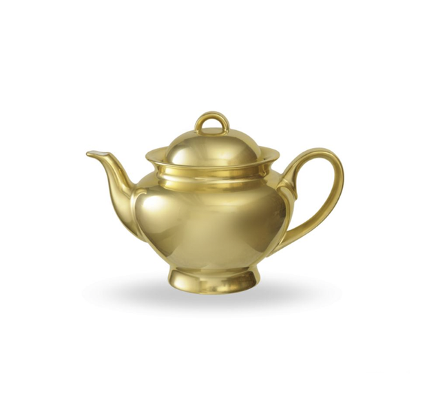 Reichenbach Full Gold Tea Pot - Le Papillon Gallery