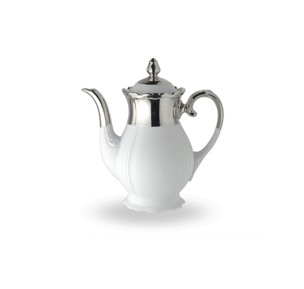 Reichenbach Silver Biscuit Coffee Pot - Le Papillon Gallery