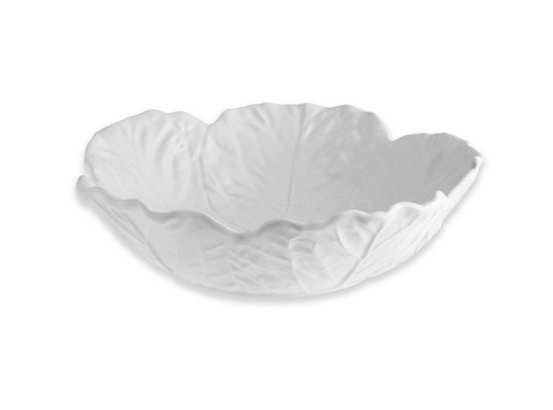 Bordallo Pinheiro Bowl 29 White - Le Papillon Gallery