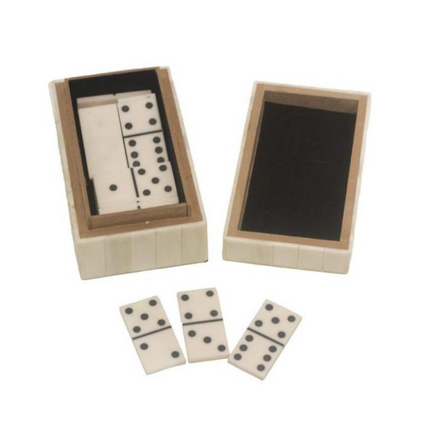 Bone / Raisin Domino box