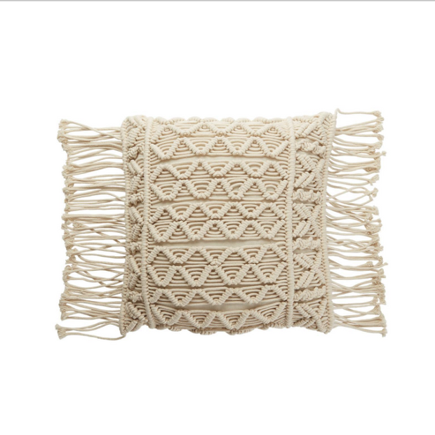 Macramé Pillows set of 3