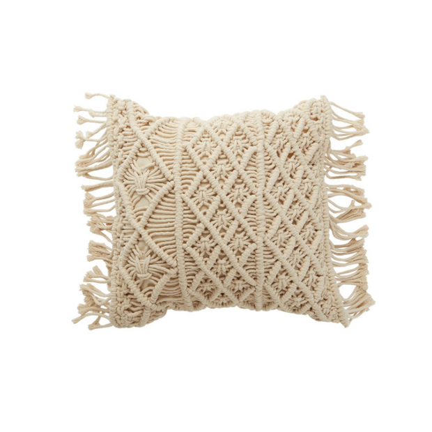 Macramé Pillows set of 3 - Le Papillon Gallery