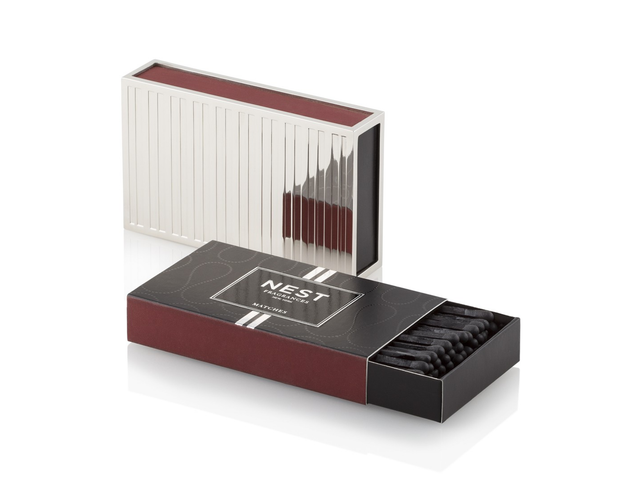 NEST Fragrances Silver Matchbook Holder