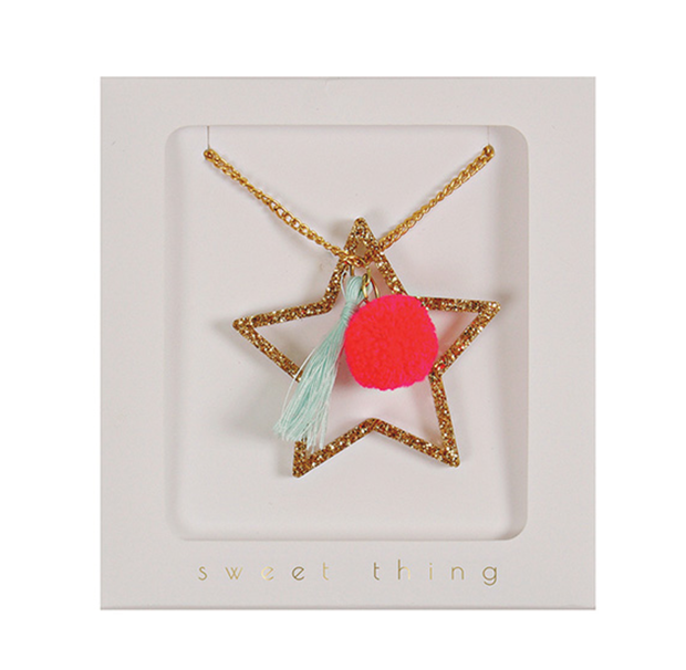 Meri Meri Star Necklace - Le Papillon Gallery