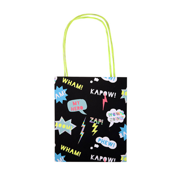Meri Meri Superhero Party Bags - Le Papillon Gallery