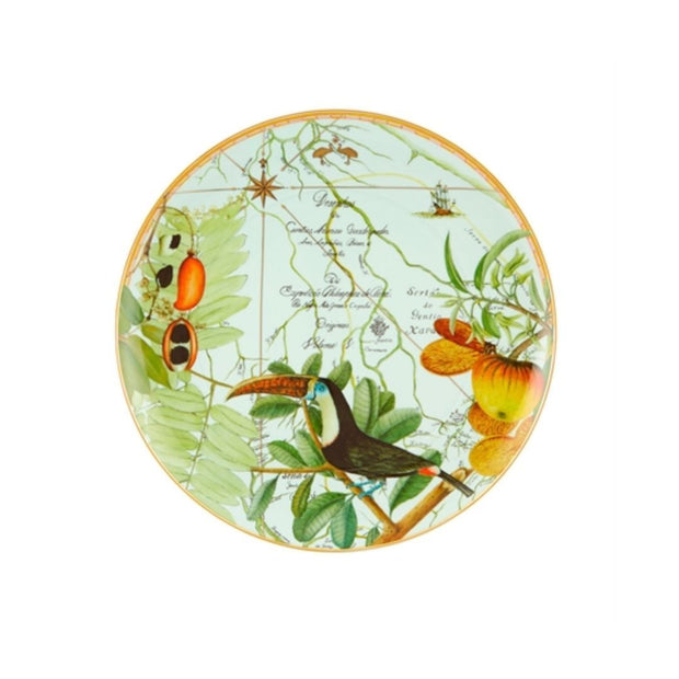 Amazonia XL plate - Le Papillon Gallery