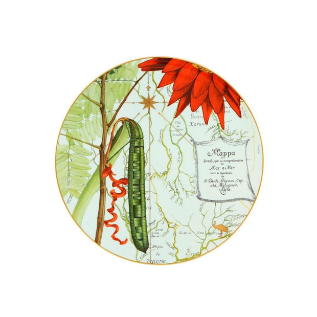 Amazonia charger plate - Le Papillon Gallery