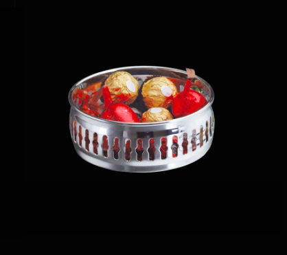 Wolff Silverplated Gallery Candy Bowl - Le Papillon Gallery