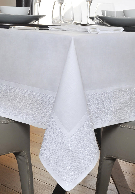 Claudia Barbari Aiko Tablecloth White